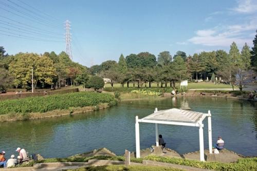 さぎ山記念公園のすぐ近く!