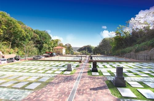 メモリアルパーク大磯は全区画人気の芝生墓地をご用意しています。