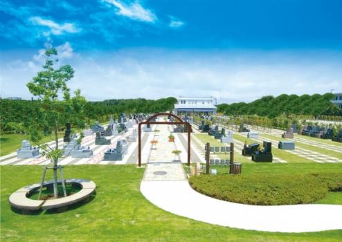 緑豊かなやすらぎのサニープレイス松戸霊園。