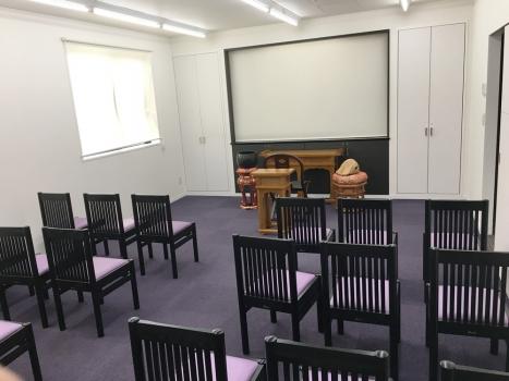 法要室も完備