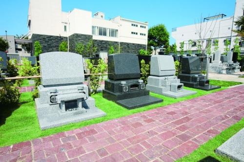芝生墓所パース図