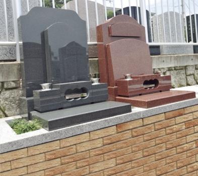テラス墓所 墓石施工例