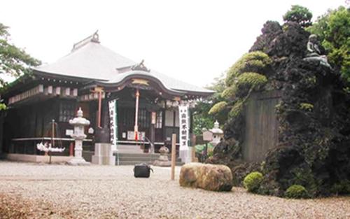 天台宗のお寺「大善院」の墓苑。
