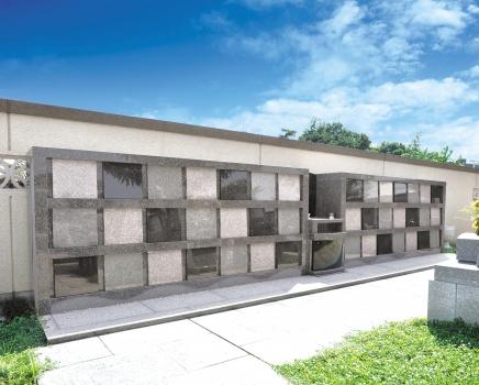 壁面タイプのロッカー型永代供養墓 ローズウォール