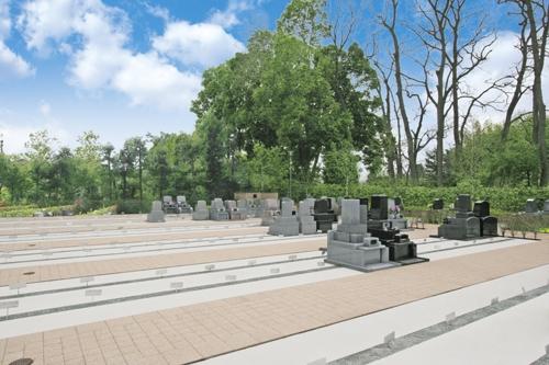 バリアフリーの墓域