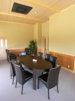 第一期管理棟内部。