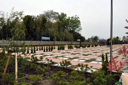 新規開園スペース。