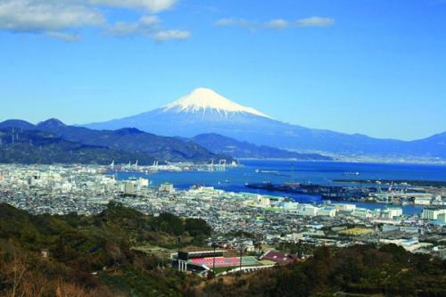 天気の良い時には、富士山も見れます。