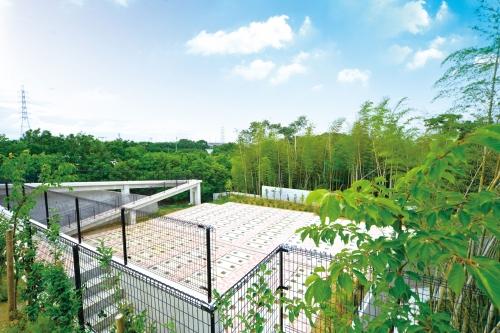 緑豊かな環境に701区画