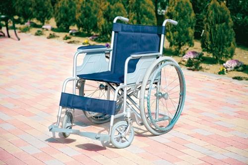 バリアフリーの園内では車椅子のご利用も安心です。