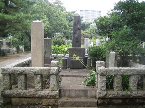 藤島武二氏のお墓