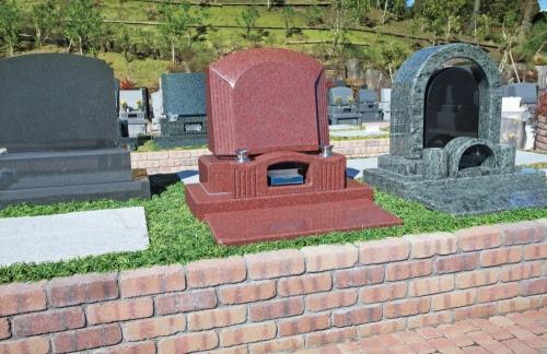 墓石施工例1