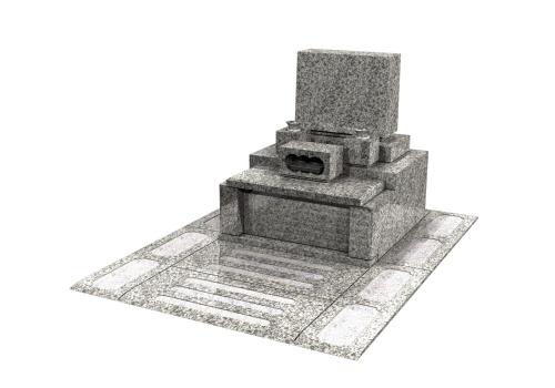 3.00㎡総石貼り区画