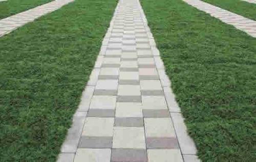 段差の少ないフラット設計で参道も広々。