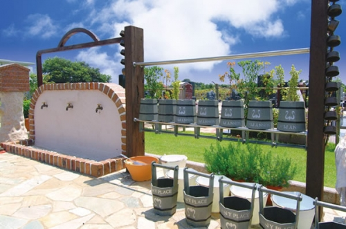 水場は園内に4ヵ所設置されています。