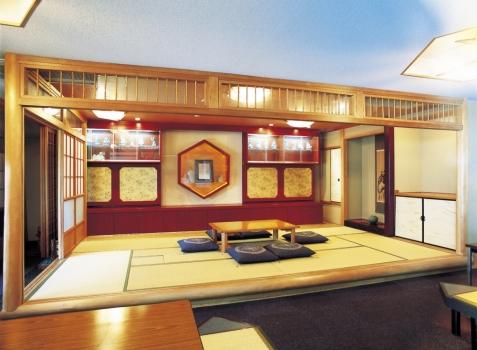 休憩処は畳の落ち着いた空間です。
