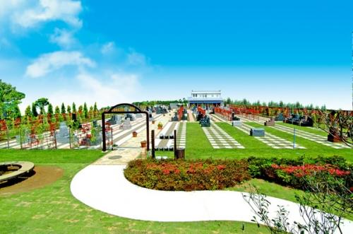 霊園オープンに合わせて公園も併設されました。