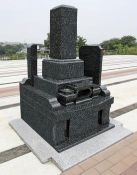 1.44㎡和型墓石施工例
