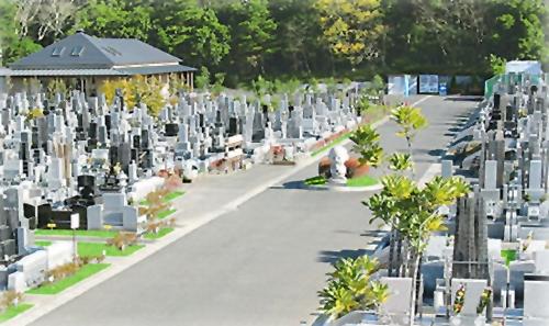 お年寄りにも安心な平坦公園墓地