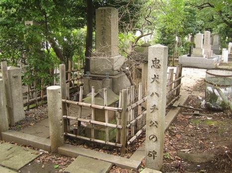 忠犬ハチ公の碑
