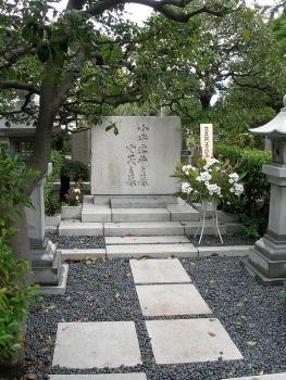 小平浪平(日立製作所創業者)夫妻の墓
