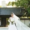 尾張徳川邸宅の黒門がふたりの新しい門出を見守ってくれる。永い歴史の重みを受け継いだ格調と風格と一緒に。