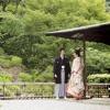 京都市文化財(名勝)に登録されている庭園にて。