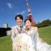 おふたりの笑顔を東京タワーも祝福してくれます!