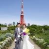 目の前に東京タワーが佇む絶好のフォトロケーション。ザ・プリンス パークタワー東京ならではの1枚!